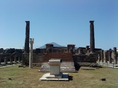 by E.V.Pita / templo de Júpiter en Pompeya /