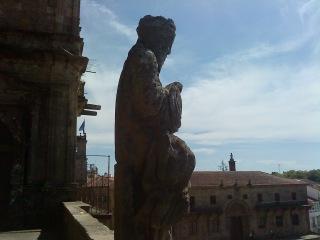 by E.V.Pita... Catedral de Santiago de Compostela y plaza do Obradoiro
